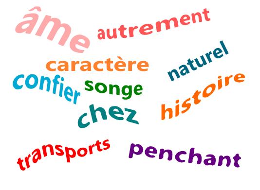 les dix mots de la francophonie 2012  u00ab dis